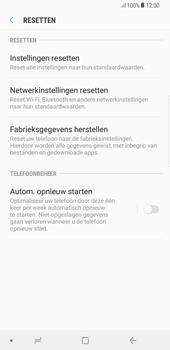 Samsung Galaxy S8 Plus - Android Oreo - Toestel reset - terugzetten naar fabrieksinstellingen - Stap 6