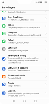 Huawei P20 Lite - Beveiliging en privacy - zoek mijn mobiel activeren - Stap 3