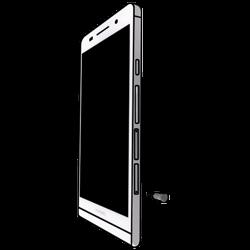 Huawei Ascend P6 LTE - SIM-Karte - Einlegen - 2 / 7