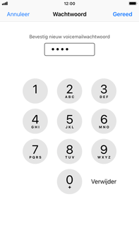 Apple iPhone 8 Plus (Model A1897) - Voicemail - Visual Voicemail - Stap 9