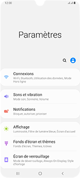Samsung Galaxy A70 - Internet et connexion - Désactiver la connexion Internet - Étape 4