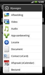 HTC A7272 Desire Z - E-mail - e-mail versturen - Stap 7
