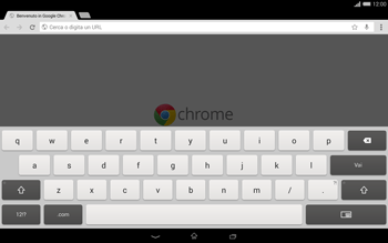 Sony Xperia Tablet Z2 LTE - Internet e roaming dati - Uso di Internet - Fase 6