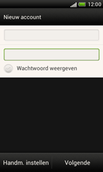 HTC T328e Desire X - e-mail - handmatig instellen - stap 7