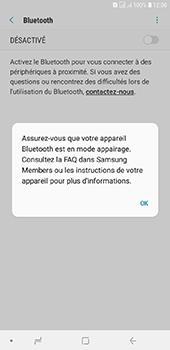 Samsung Galaxy J6 Plus - Internet et connexion - Connexion avec un équipement multimédia via Bluetooth - Étape 7
