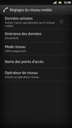 Sony Xperia S - Internet et roaming de données - Configuration manuelle - Étape 6