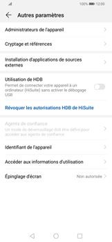 Huawei P Smart Z - Sécurité - modifier SIM PIN - Étape 5
