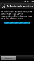 Sony Xperia U - Apps - Konto anlegen und einrichten - Schritt 8