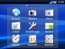 Sony Ericsson Xperia X10 Mini Pro - Anrufe - Rufumleitungen setzen und löschen - Schritt 3
