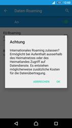 Sony Xperia Z3+ - Ausland - Im Ausland surfen – Datenroaming - 11 / 14
