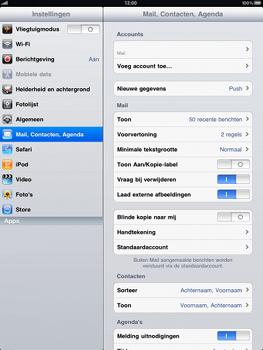 Apple iPad - E-mail - handmatig instellen - Stap 9