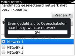 BlackBerry 9360 Curve - netwerk en bereik - gebruik in binnen- en buitenland - stap 9