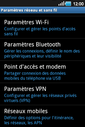 Samsung S5660 Galaxy Gio - MMS - Configuration manuelle - Étape 5