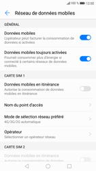 Huawei P9 Lite - Android Nougat - Réseau - Changer mode réseau - Étape 5