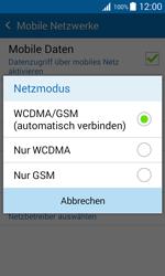 Samsung J100H Galaxy J1 - Netzwerk - Netzwerkeinstellungen ändern - Schritt 6