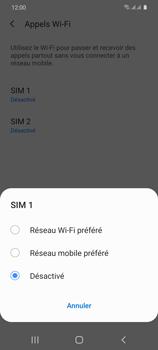 Samsung Galaxy S20 5G - WiFi - Activez WiFi Calling - Étape 8