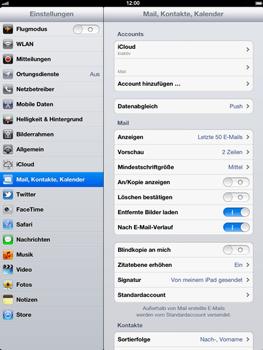 Apple iPad 3 - E-Mail - Konto einrichten - Schritt 14