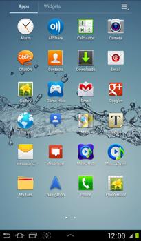 Samsung P3100 Galaxy Tab 2 7-0 - MMS - Sending pictures - Step 2