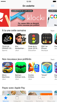 Apple Apple iPhone 6 Plus iOS 10 - Applications - Télécharger des applications - Étape 4