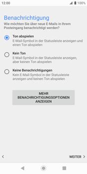 Sony Xperia XZ2 - Android Pie - E-Mail - Konto einrichten (outlook) - Schritt 15