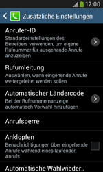 Samsung I9060 Galaxy Grand Neo - Anrufe - Rufumleitungen setzen und löschen - Schritt 7