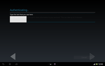 Sony Xperia Tablet Z LTE - Applications - Setting up the application store - Step 20