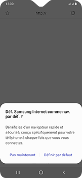 Samsung Galaxy A20e - Internet et connexion - Naviguer sur internet - Étape 5