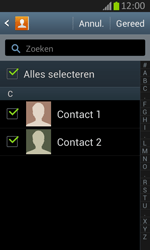 Samsung S7710 Galaxy Xcover 2 - contacten, foto