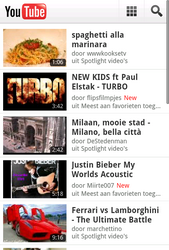 Apple iPhone - Internet - sites les plus visités - Étape 9