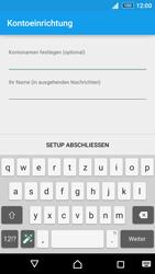 Sony E6553 Xperia Z3+ - E-Mail - Konto einrichten - Schritt 19