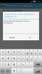 Bouygues Telecom Bs 471 - Sécuriser votre mobile - Personnaliser le code PIN de votre carte SIM - Étape 8