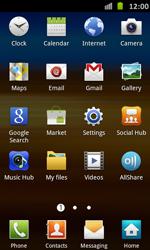 Samsung Galaxy S Advance - Internet and data roaming - Manual configuration - Step 3