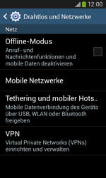 Samsung Galaxy Ace III - Netzwerk - Manuelle Netzwerkwahl - Schritt 5
