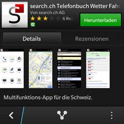 BlackBerry Q10 - Apps - Installieren von Apps - Schritt 12
