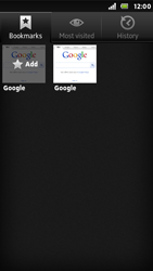 Sony ST25i Xperia U - Internet - Internet browsing - Step 7