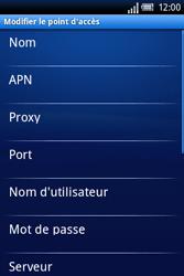 Sony Xperia X8 - MMS - Configuration manuelle - Étape 8