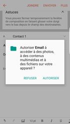 Samsung Galaxy S6 Edge (G925F) - Android M - E-mail - envoyer un e-mail - Étape 10