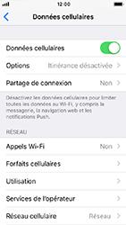 Apple iPhone SE - iOS 12 - Réseau - Changer mode réseau - Étape 4