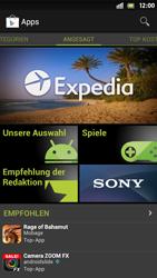 Sony Xperia S - Apps - Einrichten des App Stores - Schritt 16