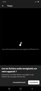 Samsung Galaxy A41 - Photos, vidéos, musique - Ecouter de la musique - Étape 6