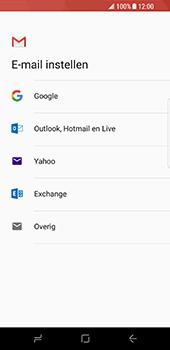 Samsung Galaxy S8 - E-mail - e-mail instellen (gmail) - Stap 8
