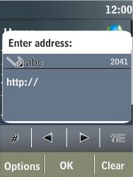 Nokia X3-02 - Internet - Internet browsing - Step 4