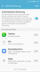 Samsung Galaxy S7 - Datenschutz und Sicherheit - Samsung synchronisieren - 0 / 0