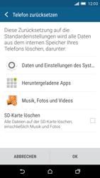 HTC One M9 - Fehlerbehebung - Handy zurücksetzen - 1 / 1