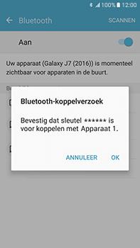 Samsung Galaxy J7 (2016) (J710) - bluetooth - headset, carkit verbinding - stap 7