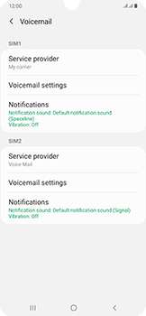 Samsung Galaxy A50 - Voicemail - Manual configuration - Step 8