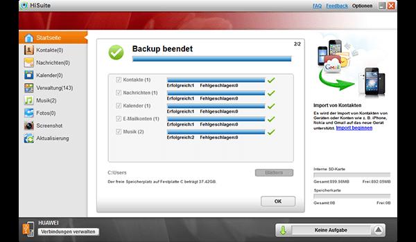 Huawei Mate 10 Pro - Software - Sicherungskopie Ihrer Daten erstellen - Schritt 8