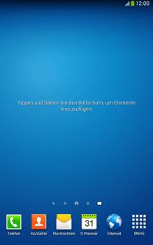 Samsung Galaxy Tab 3 8-0 LTE - Startanleitung - Installieren von Widgets und Apps auf der Startseite - Schritt 3