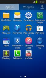 Samsung S7390 Galaxy Trend Lite - Applications - Créer un compte - Étape 3
