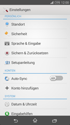 Sony D5103 Xperia T3 - Fehlerbehebung - Handy zurücksetzen - Schritt 6
